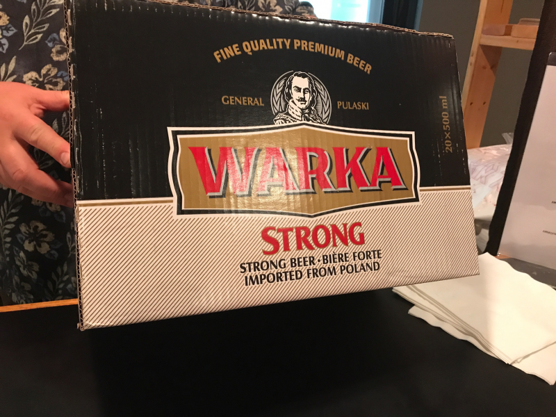 Our president's favorite Polish brew
