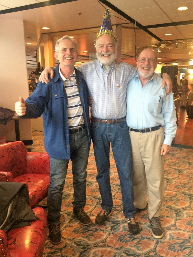 Three inseparable Rotarians