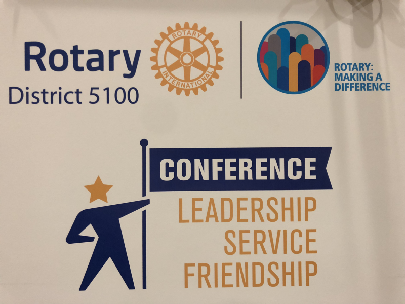 Rotary is: Leadership - Service - Friendship