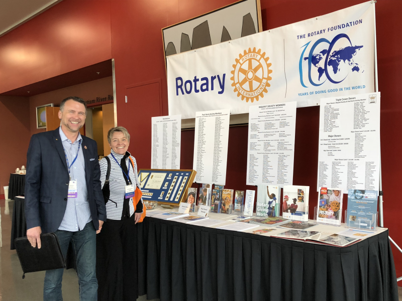The real Rotary engine: The Rotary Foundation