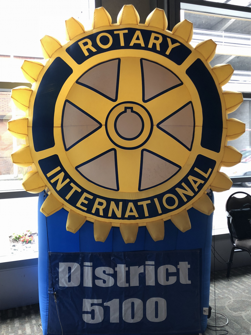 District 5100 Rotary Wheel
