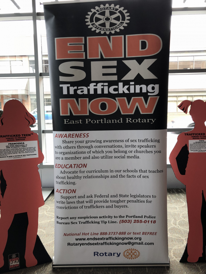 An important project - ending sex trafficking